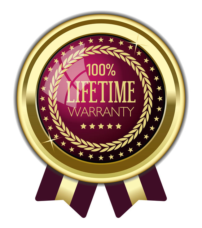 lifetime warranty for residential roof system